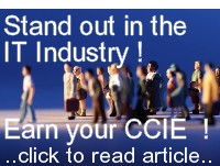 Stand out in IT ! Earn your CCIE