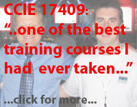 ccie 17409 one of the best training courses